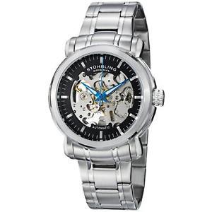 【送料無料】stuhrling delphi antium mens 42mm automatic krysterna watch 38733111