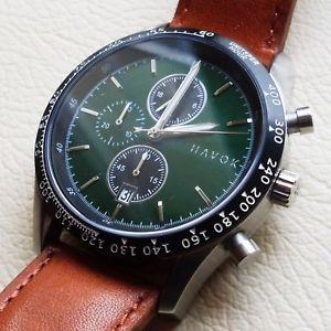 【送料無料】cronografo da corsa elliot havok racer chronograph made in usa