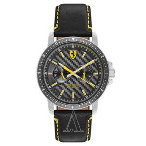 【送料無料】ferrari mens quartz watch 830450