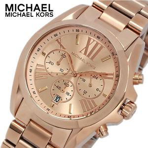 【送料無料】michael kors mk5503 ladies rose gold bradshaw watch 2 year warranty