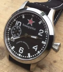 【送料無料】molnija molnia molniya smersh watch  45mm case, sapphire choose strap