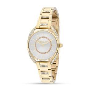 【送料無料】orologio donna morellato tivoli r0153137501 acciaio gold dorato swarovski