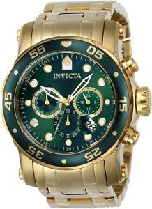 【送料無料】invicta mens pro diver quartz chronograph stainless steel 200m watch 23653