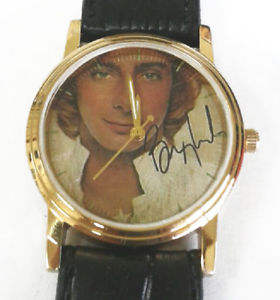 1990s vintage barry manilow collectible collectors edition classic wrist watch