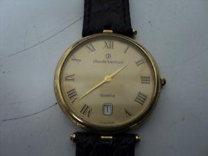 slim claude bernard mens quartz watch swiss made