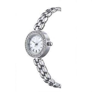 【送料無料】avon natalee ladies silver bracelet watch