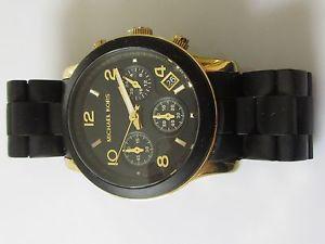 secondhand michael koris ladies runway chronograph mk5191 watch