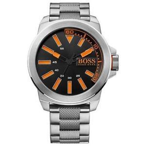【送料無料】hugo boss orange 1513006 mens stainless steel bracelet york watch