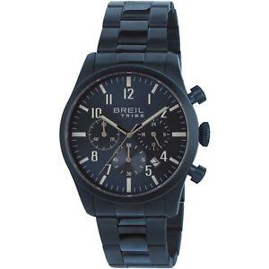 【送料無料】orologio breil tribe classic elegance ew0359 acciaio watch full blu cronografo