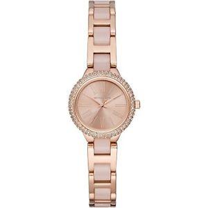 【送料無料】michael kors 25mm womens petite taryn rose gold blush acetate watch mk6582