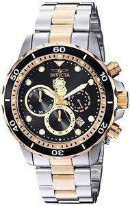 【送料無料】invicta mens garfield collection quartz stainless steel casual watch, colortwo