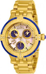 【送料無料】invicta womens subaqua chrono 100m gold tone stainless steel watch 26143
