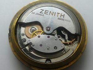 【送料無料】zenith automatic manual cal 252 mit blatt with dail working need service k373