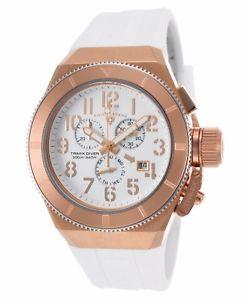【送料無料】swiss legend mens rose gold steel case white strap quartz watch 13844rg02ra