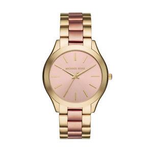 【送料無料】michael kors mk3493 ladies runway pvd gold plated watch