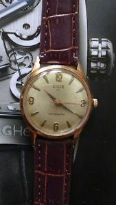 【送料無料】1960s mens elgin 17 jewels selfwinding automatic wrist watch