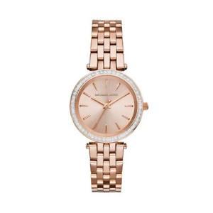 【送料無料】michael kors darci stainless steel rose gold toned womens quartz watch mk3366