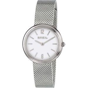 【送料無料】orologio donna breil iris tw1776 maglia milanese cassa acciaio madreperla watch