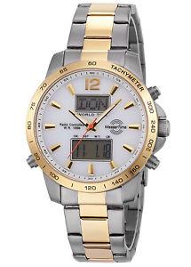【送料無料】master time herrenfunkchronograph world timer chrono mtgs1064930m