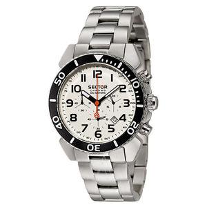 【送料無料】orologio sector modello chrono 100 meters ref r3273603145 nuovo