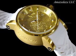 invicta men s1 yakuza dragon nh35a auto 18k gold plated stainless stee watch