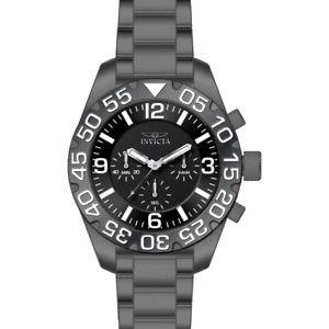 【送料無料】invicta mens 20455 ti22 analog display chronograph quartz grey titanium watch