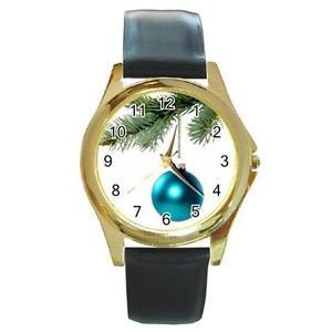 【送料無料】turquoise ornament on pine bough christmas tree watch 9 othr styls sport charm