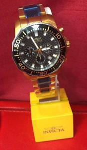 【送料無料】invicta pro driver 17254 men in gold colorstainless 12900