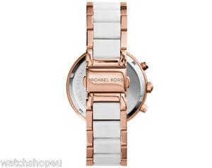 送料無料michael kors mk5774 ladies rose gold parker watch2 years warrantyKclFJT1