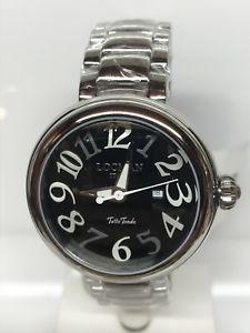 orologio locman tuttotondo 40mm acciaio 490 nero scontatissimo nuovo
