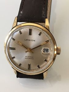 【送料無料】rare vintage gents legion automatic wrist watch 25 jewels automatic cal 2782