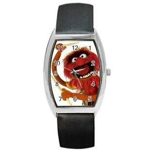 【送料無料】muppets sesame street animal drummer barrel watch xmas gift, cute