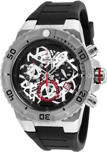 【送料無料】invicta mens pro diver swiss quartz 100m stainless steelsilicone watch 26070