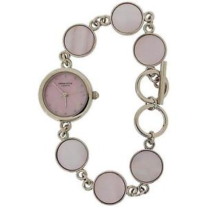 【送料無料】identity london mother of pearl bracelet strap ladies fashion watch 2225780