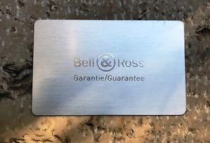 【送料無料】neues angebotbell amp; ross international warranty card blank garantee garanta garantie nos