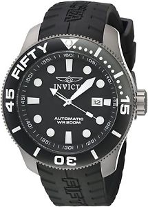 【送料無料】invicta 20519 mens ti22 automatic titanium and silicone watch