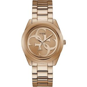 【送料無料】orologio guess g twist w1082l3 watch acciao oro rosa donna 36 mm logo quarzo