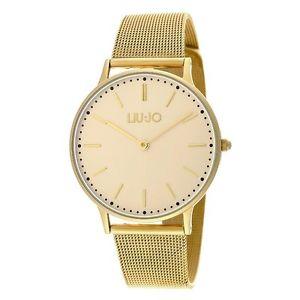 【送料無料】orologio da donna liu jo luxury collezione moonlight tlj970 gold dorato