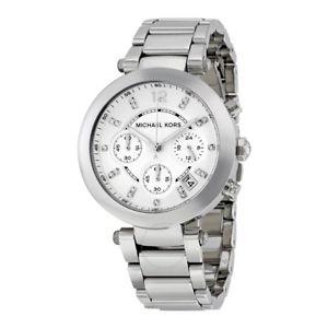 【送料無料】michael kors mk5275 parker silver bracelet chrono watch