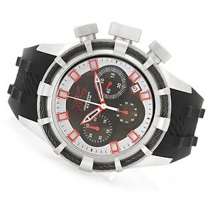 mens invicta 22146 reserve bolt swiss chronograph silicone strap watch