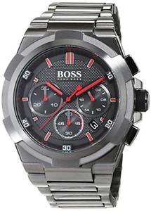 【送料無料】hugo boss mens chronograph quartz watch stainless steel bracelet hb1513361