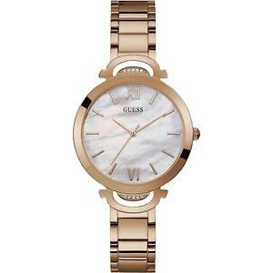 【送料無料】orologio guess opal w1090l2  watch acciaio rosa 36 mm madreperla donna quarzo