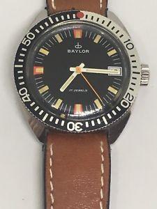 【送料無料】baylor watch working, 17 jewels