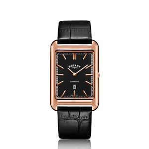 【送料無料】rotary cambridge rectangular watch gs05284041 rrp 16900 now 12695