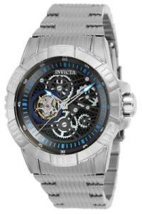 【送料無料】25416 invicta 45mm pro diver mens steel bracelet automatic watch