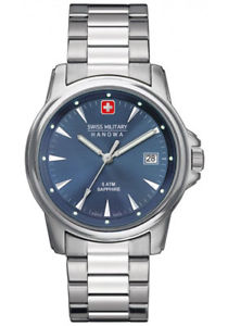 【送料無料】swiss military hanowa swiss recruit prime 6523004003 analog edelstahl silber