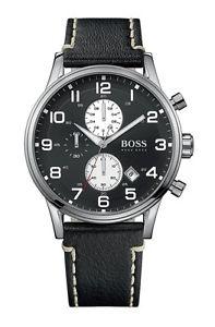 【送料無料】 hugo boss 1512569 mens chronograph watch 2 year warranty