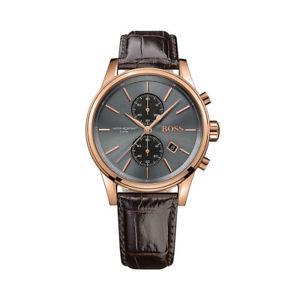 【送料無料】original hugo boss herrenuhr leder hb 1513281 chronograph neu amp; ovp