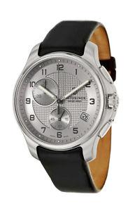 【送料無料】swiss army classic icers chronograph steel mens strap watch date 241553