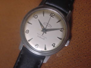 【送料無料】vintage gotham mens wrist watch automatic gothamatic eta 2451